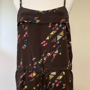 Dolce Vita Dresses - Dolce Vita cinched silk mini dress